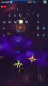 Space attack infinity air force shooting