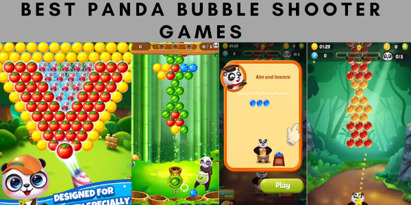 Best Panda Bubble Shooter Games for Android