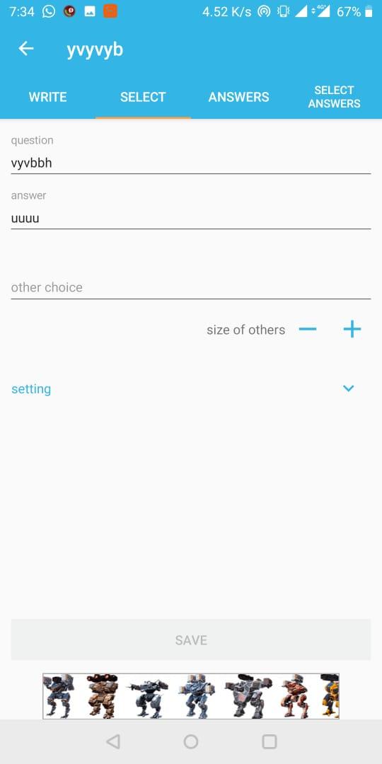 test maker app
