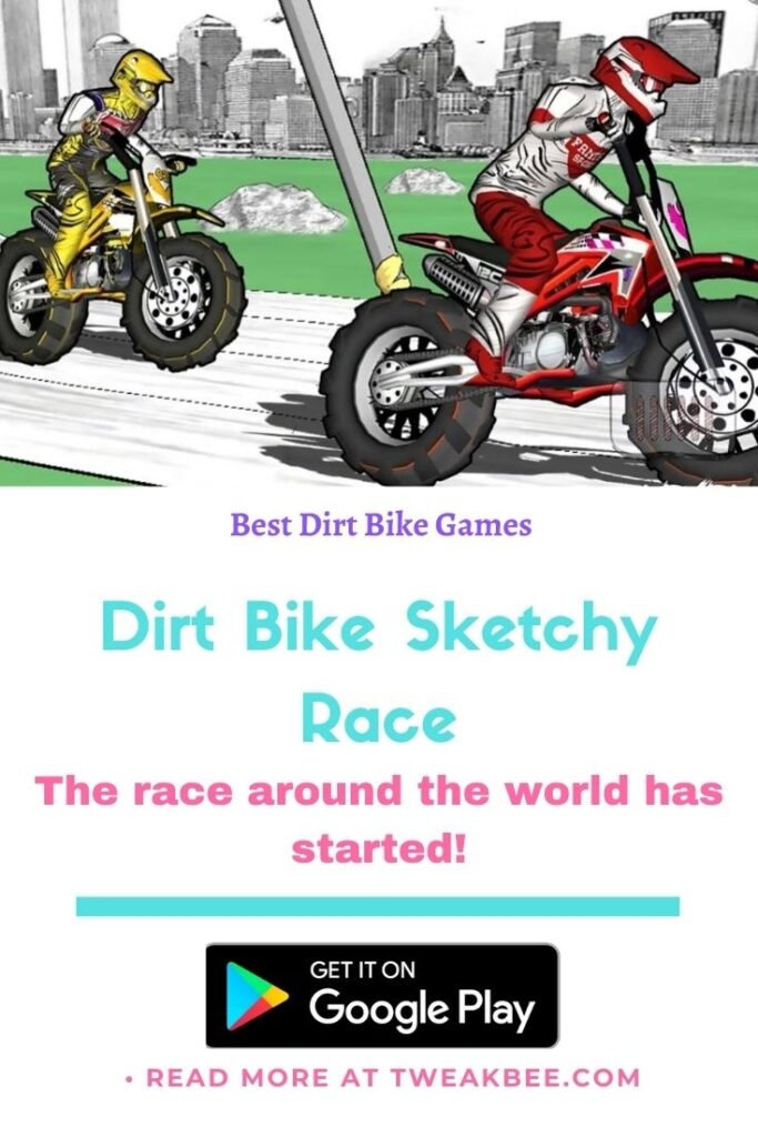 Dirt Bike Sketchy Race