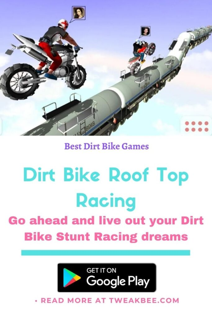 Dirt Bike Roof Top Racing