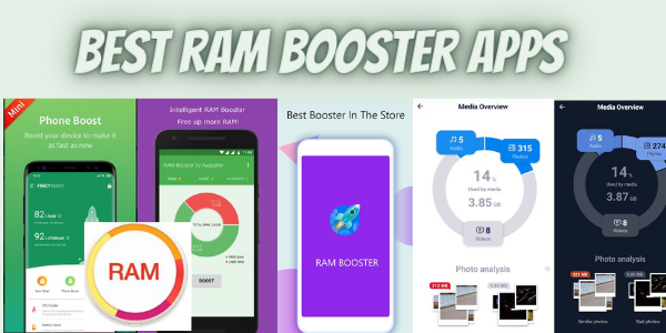 Best ram booster apps for android